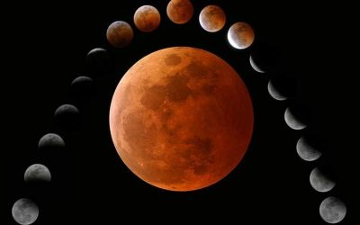 The First and Only Full Lunar Eclipse of 2019
