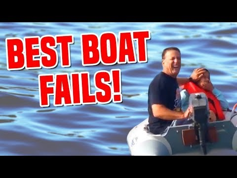 VIDEO: Funny Boat Ramp and Boat Launch Fails compilation