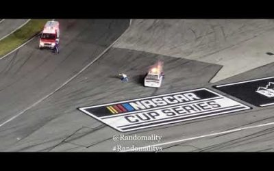 VIDEO: 2020 Daytona 500 Fiery Crash  Ryan Newman #6 aftermath