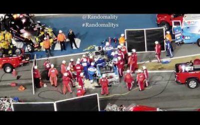 VIDEO: Ryan Newman #6 NASCAR 2020 Daytona 500 Crash Cutting Roof Off Vehicle
