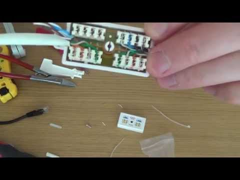 How To REPAIR or EXTEND a CAT5e / CAT 6 Network Ethernet cable using a junction box