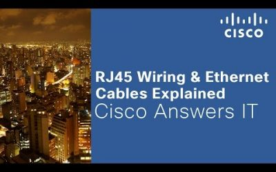 VIDEO: RJ45 Wiring Ethernet Cables Explained