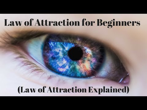 VIDEO: Law of Attraction for Beginners (Law of Attraction or Manifesting Explained)